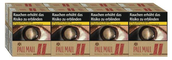 Pall Mall Zigaretten Authentic Red 10€ (Giga) (8x34er)