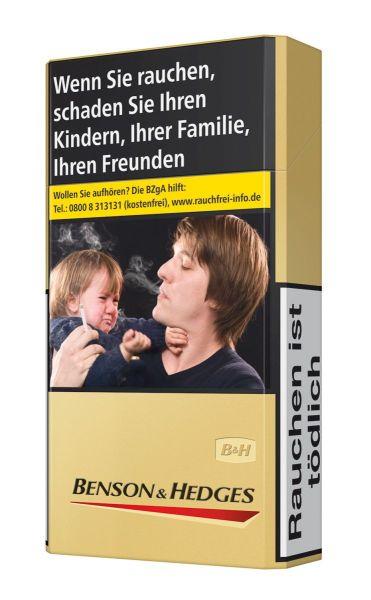 Benson & Hedges Zigaretten Gold Long (10x20er)