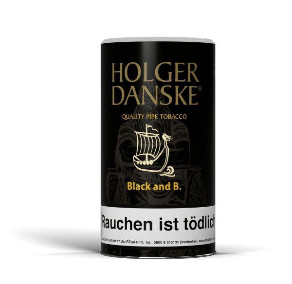 Holger Danske Pfeifentabak Black and B. (Dose á 200 gr.)