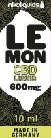 NikoLiquids CBD Lemon Liquid 600mg/ml (Flasche á 10 ml)