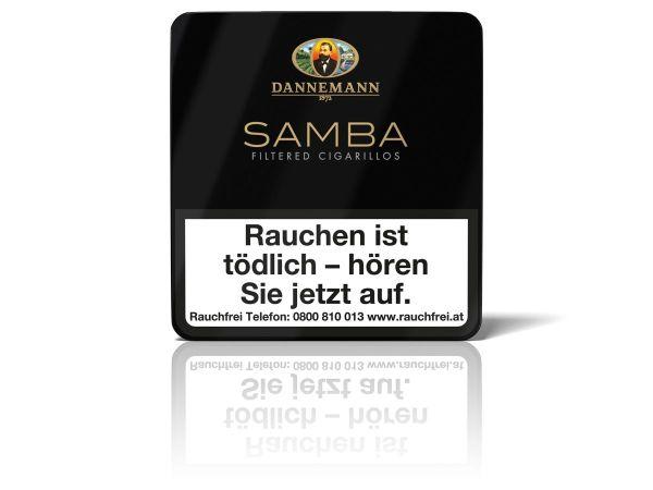 Dannemann Zigarillos Samba (Schachtel á 10 Stück)