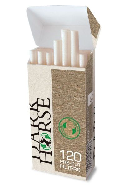 Dark Horse Biodegradable Pre-Cut Filters Extra Slim 5,7mm (20 x 120 Stück)