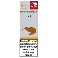 Red Kiwi eLiquid RY4 Tabak 4,5mg Nikotin/ml (10 ml)