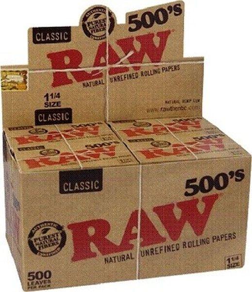 RAW Classic 1 1/4 Papier (20 x 500 Stück)