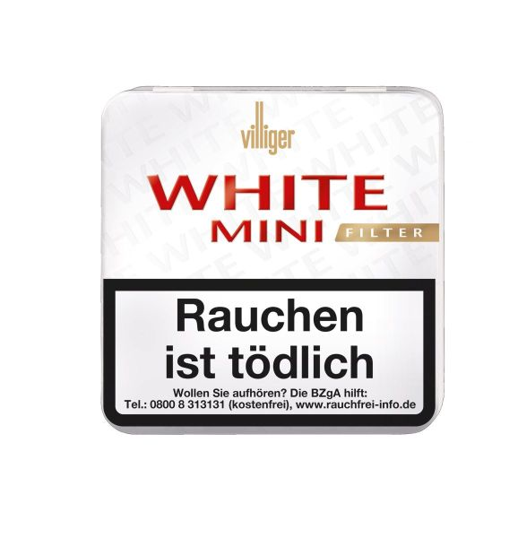 Villiger Zigarren White Mini Filter (Schachtel á 20 Stück)