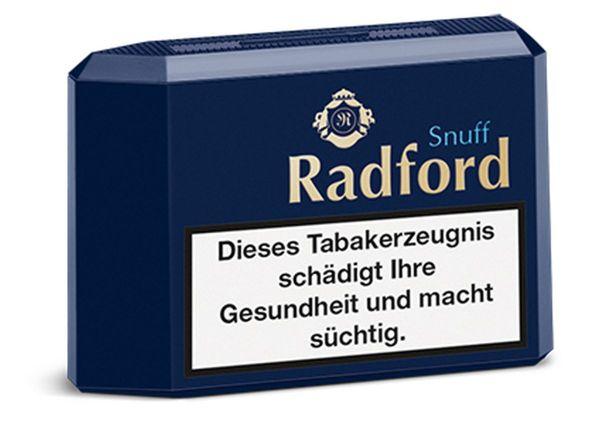 Radford Schnupftabak (Premium) Snuff (10 x 10 gr.)