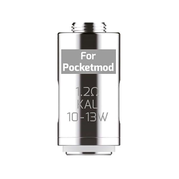 Innokin Ersatzverdampferkerne für Pocketmod und Pocketbox 1,2 Ohm MTL 5er (Packung á 5 Stück)