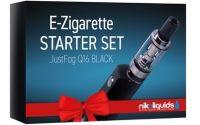NikoLiquids Easy Starter Kit Just Fog Q16 Schwarz (Stück á 1 Stück)