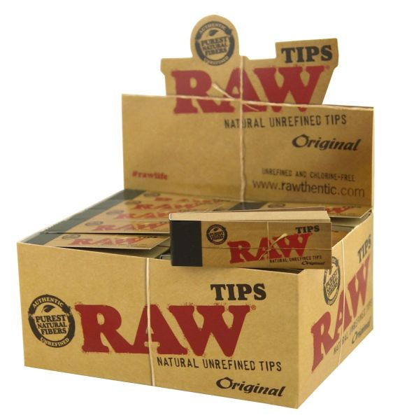 RAW Filter Tips (50 x 50 Stück)