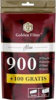 Golden Filter Slim 6mm (1000 Stück)