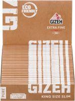 Gizeh Pure King Size Slim Extra Fine Papier (25 x 33 Stück)