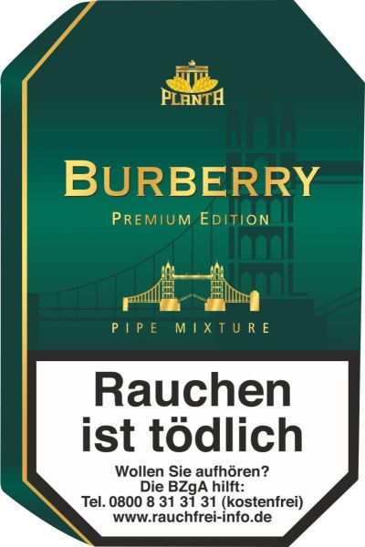 Planta Pfeifentabak Burberry (Dose á 100 gr.)
