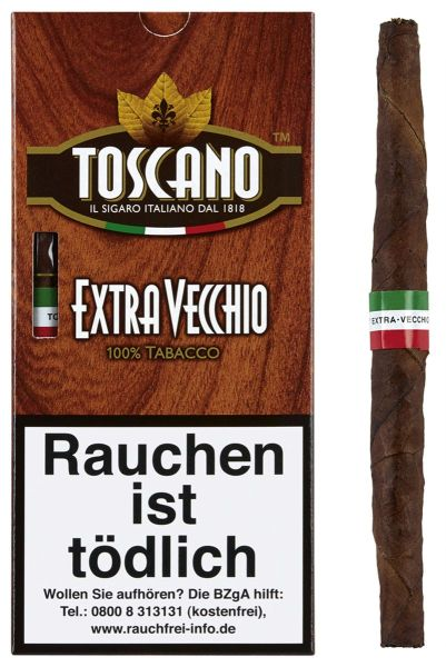 Toscano Zigarren Extra Vecchio (Packung á 5 Stück)