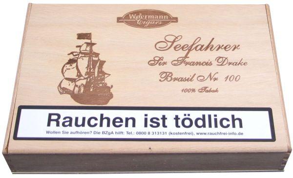Diverse Zigarren Seefahrer Sir Francis Drake Brasil No.100 (Packung á 25 Stück)