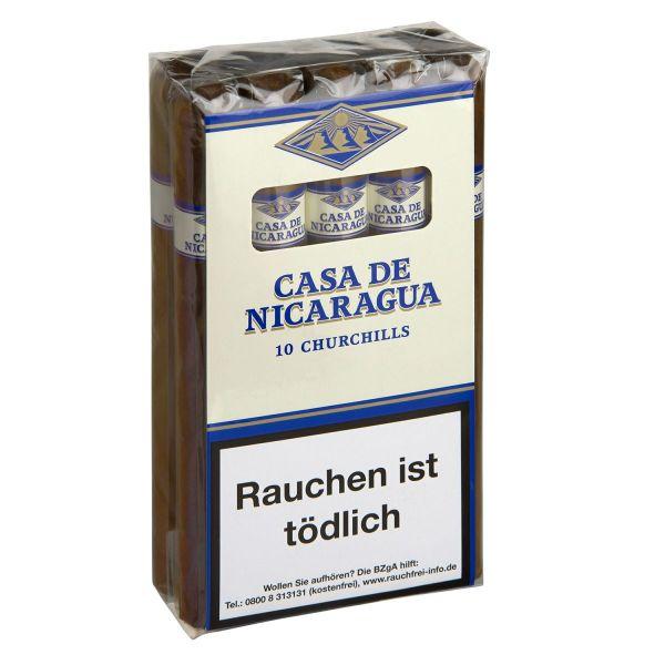 Villiger Zigarren Casa de Nicaragua Churchill (Schachtel á 10 Stück)