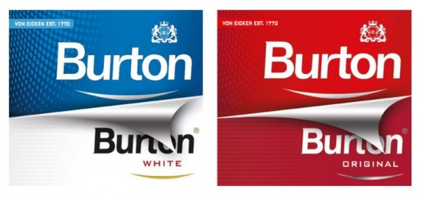 Burton-Packungsrelaunch