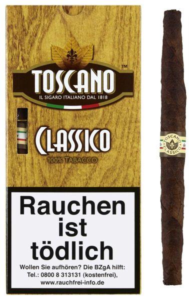 Toscano Zigarren Classico (Schachtel á 5 Stück)