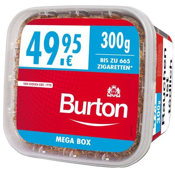 Burton Volumentabak Volumen Tabak Full Red XXXL-Size (Dose á 350 gr.)