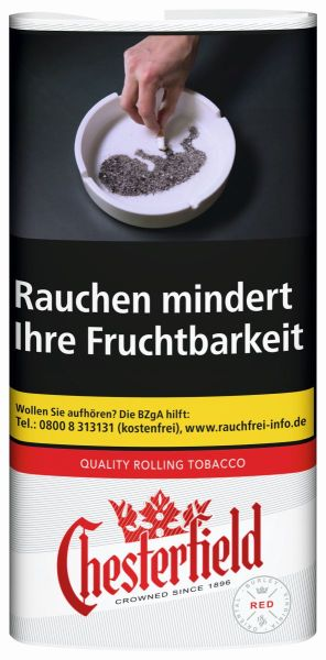 Chesterfield Zigarettentabak Rolling Tobacco Red (5x30 gr.) 5,20 € | 26,00 €
