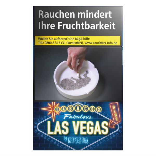 Las Vegas Zigaretten Blue (10x20er)
