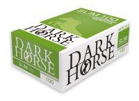 Dark Horse Menthol Slim Zigarettenhülsen (Packung á 100 Stück)
