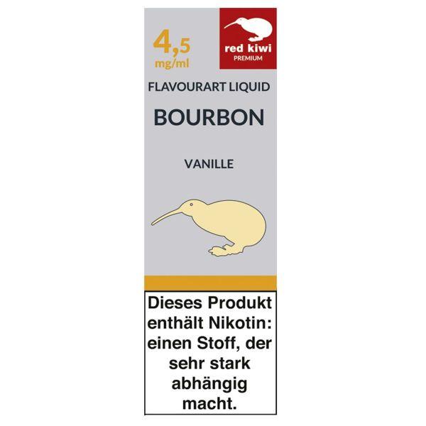 Red Kiwi Liquid Bourbon Vanille 4,5mg Nikotin/ml (10 ml)