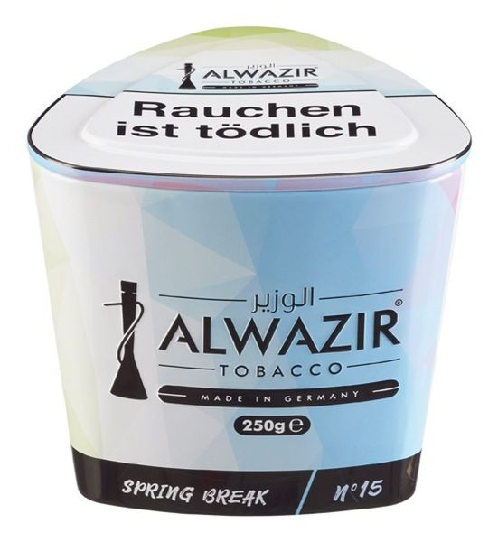 Alwazir Shisha Tabak Spring Break No.15