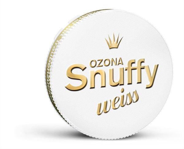 Ozona Schnupftabak Snuffy Weiss 6g Dose (tabakfrei) (10 x 6 gr.)