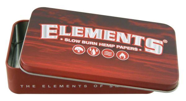 Elements Metalletui Box Rot Hemp/Hanf (Stück á 1 Stück)