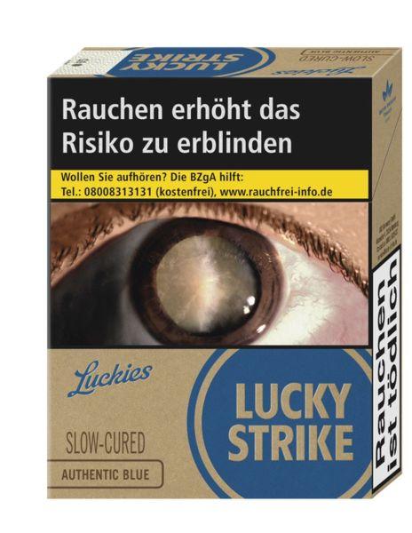 Lucky Strike Zigaretten Authentic Blue 8€ (XXL) (8x23er)