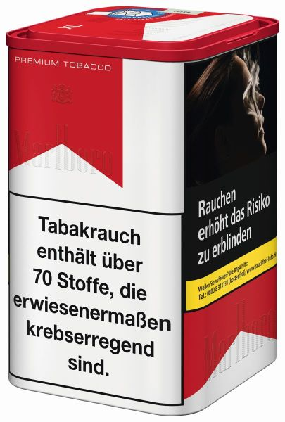Marlboro Zigarettentabak Premium Tobacco Red (XL) (Dose á 130 gr.)