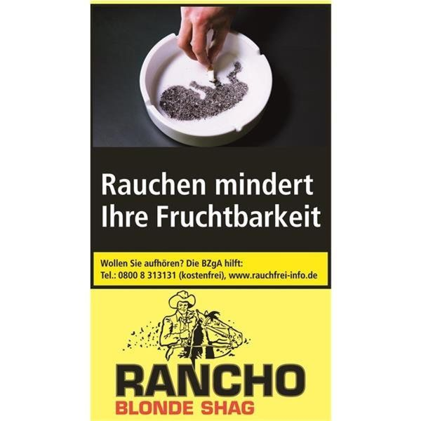 Rancho Zigarettentabak Blonde (5x40 gr.) 4,85 € | 24,25 €