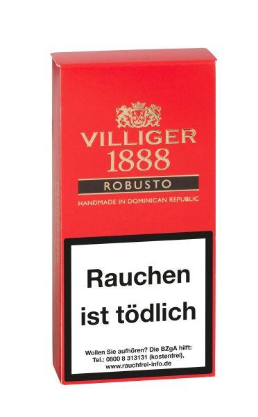 Villiger Zigarren 1888 Robusto (Packung á 3 Stück)