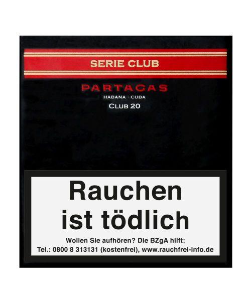 Partagas Zigarillos Series Club (Schachtel á 20 Stück)