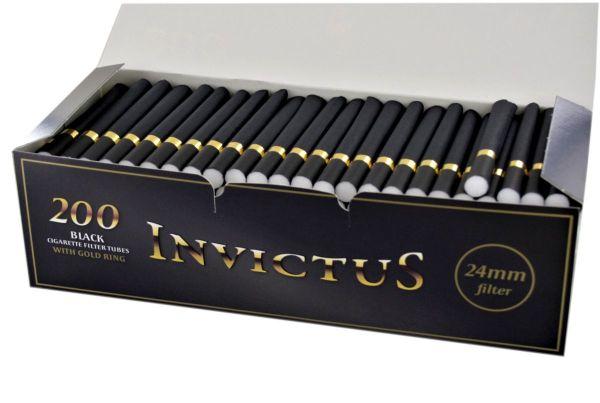 Invictus Black Long 24mm Filter (200 Stück)