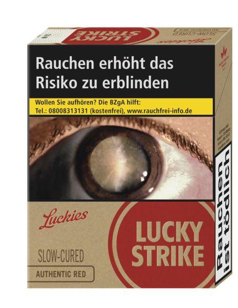 Lucky Strike Zigaretten Authentic Red 8€ (XXL) (8x23er)