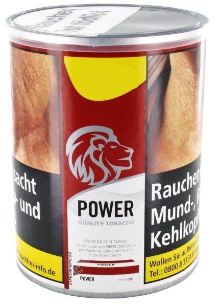 Power Zigarettentabak Red Quality Tobacco (Dose á 150 gr.)