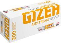 Gizeh Airstream Extra gelb Hülsen (5 x 200 Stück)