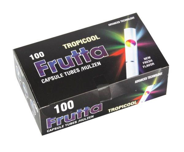Frutta Tropicool Fresh Zigarettenhülsen (100 Stück)