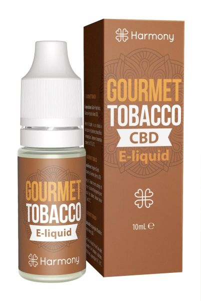 Harmony Eliquid Gourmet Tobacco CBD 300mg (10 ml)