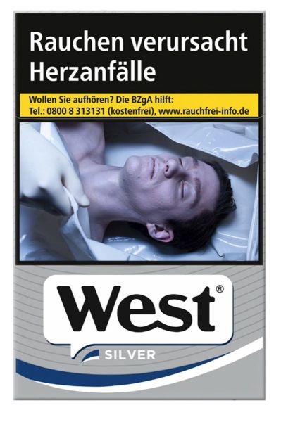 West Zigaretten Silver (10x20er)