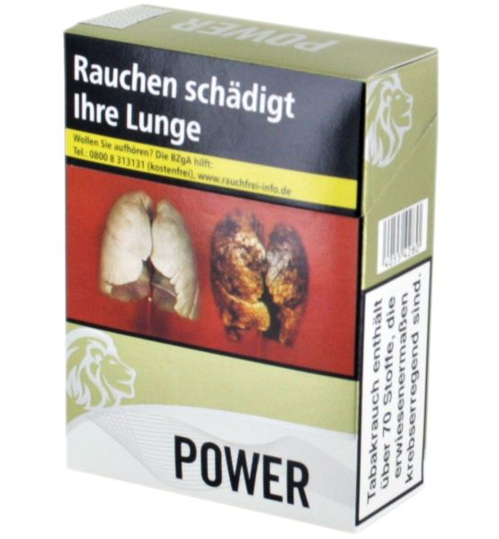 Power Zigaretten gold Maxi Pack (8x30er)