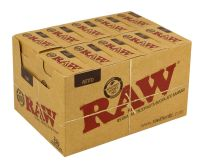 RAW Zigarettenfilter Slim 6mm Baumwolle ungebleicht (10 x 120 Stück)