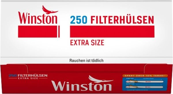 Winston Extra Zigarettenhülsen (4 x 250 Stück)