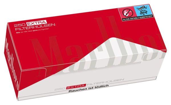Marlboro Red Extra Zigarettenhülsen (4 x 250 Stück)