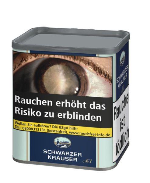 Schwarzer Krauser Zigarettentabak No. 1 (Dose á 85 gr.)