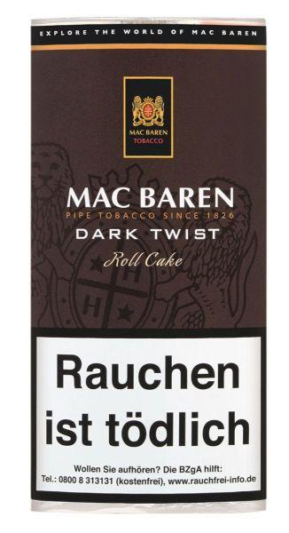 Mac Baren Pfeifentabak Dark Twist (Pouch á 50 gr.)