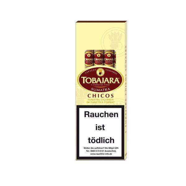 Villiger Zigarillos Tobajara Chicos Sumatra (Schachtel á 5 Stück)