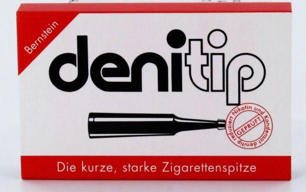 Denicotea Denitip nspitzen Einweg Bernsteinfarben (Packung á 6 Stück)