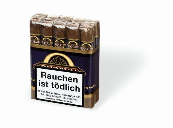 Quorum Zigarren Classic Robusto (Schachtel á 10 Stück)